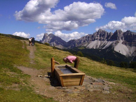 Hiking holidays in the Dolomites